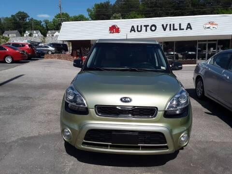 2012 Kia Soul for sale at Auto Villa in Danville VA