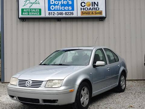 2002 Volkswagen Jetta for sale at Doyle's Auto Sales and Service in North Vernon IN