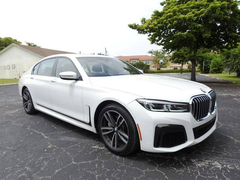 2020 BMW 7 Series for sale at SUPER DEAL MOTORS 441 in Hollywood FL