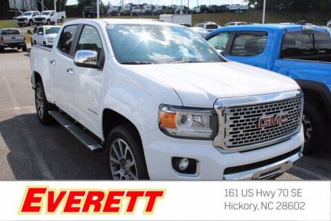 2020 GMC Canyon for sale at Everett Chevrolet Buick GMC in Hickory NC