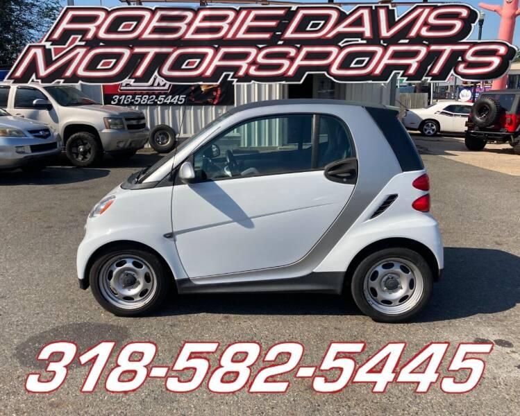 2013 Smart fortwo for sale at Robbie Davis Motorsports in Monroe LA