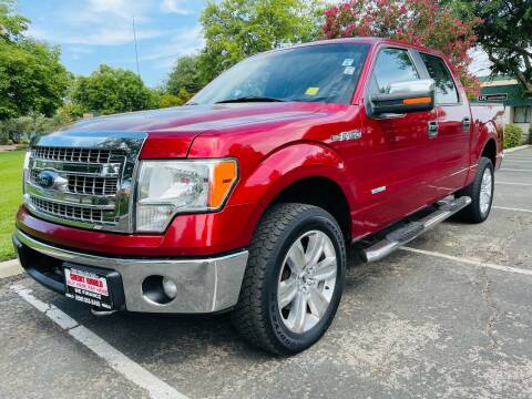 2013 Ford F-150 for sale at Credit World Auto Sales in Fresno CA