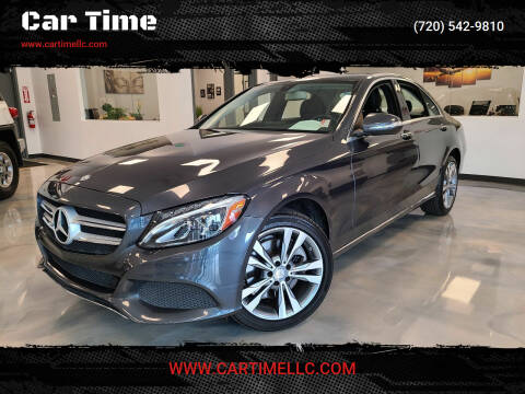 2015 Mercedes-Benz C-Class for sale at Car Time in Denver CO