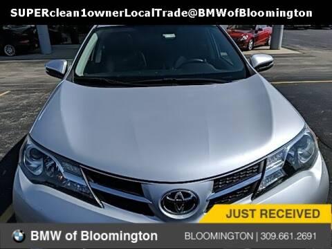 2015 Toyota RAV4 for sale at Sam Leman Mazda in Bloomington IL