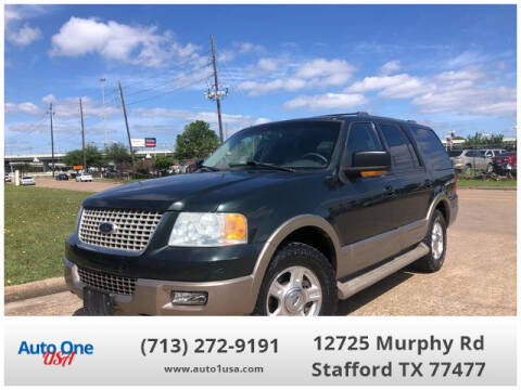 2004 Ford Expedition for sale at Auto One USA in Stafford TX