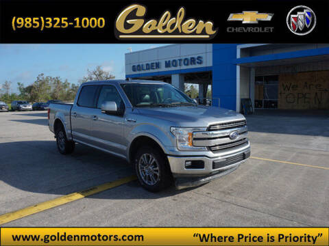 2020 Ford F-150 for sale at GOLDEN MOTORS in Cut Off LA