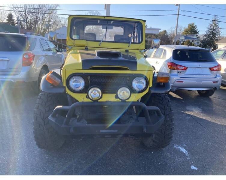 1977 Toyota Land Cruiser for sale at M & J Auto Sales in Attleboro MA