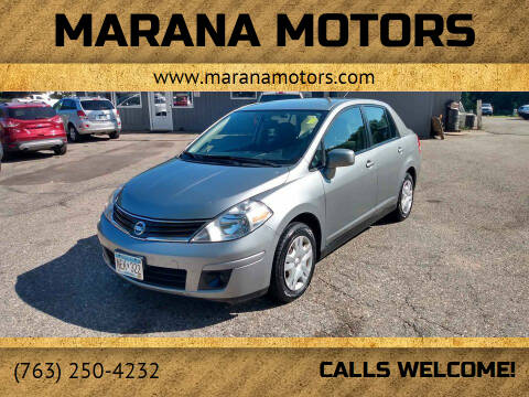 2011 Nissan Versa for sale at Marana Motors in Princeton MN