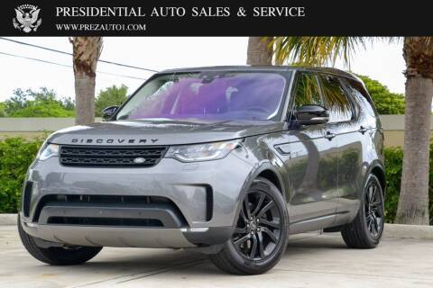 2017 Land Rover Discovery for sale at Presidential Auto  Sales & Service in Delray Beach FL