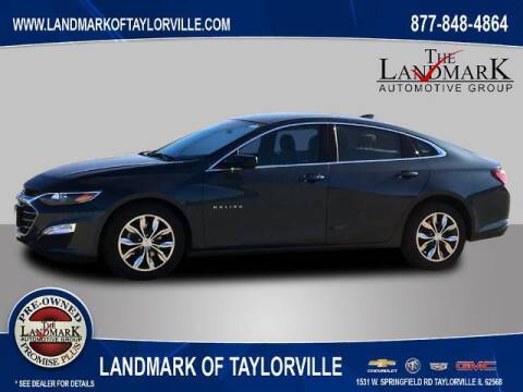 2020 Chevrolet Malibu for sale at LANDMARK OF TAYLORVILLE in Taylorville IL