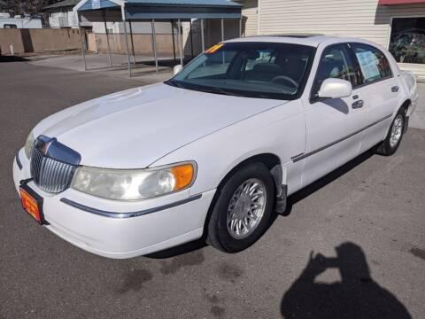 1999 Lincoln Town Car for sale at Progressive Auto Sales in Twin Falls ID