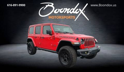 2019 Jeep Wrangler Unlimited for sale at Boondox Motorsports in Caledonia MI