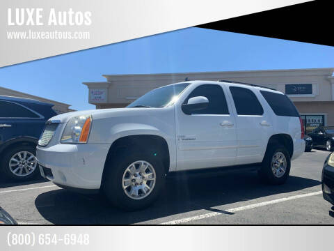 2008 GMC Yukon for sale at LUXE Autos in Las Vegas NV