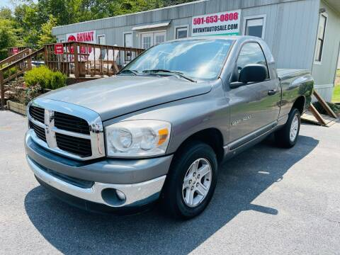 2007 Dodge Ram Pickup 1500 for sale at BRYANT AUTO SALES in Bryant AR