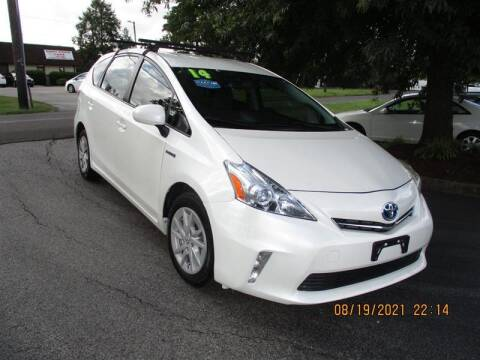 2014 Toyota Prius v for sale at Euro Asian Cars in Knoxville TN