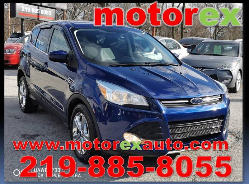 2014 Ford Escape for sale at Motorex Auto Sales in Schererville IN