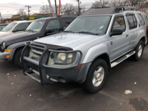 2002 Nissan Xterra for sale at BIG C MOTORS in Linden NJ