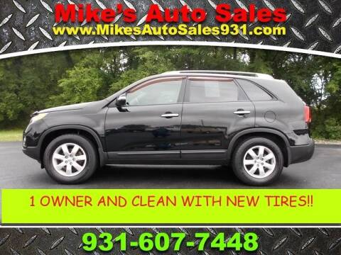 2012 Kia Sorento for sale at Mike's Auto Sales in Shelbyville TN
