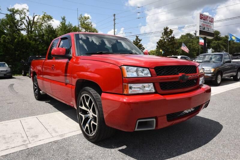 2004 Chevrolet Silverado 1500 SS for sale at Grant Car Concepts in Orlando FL