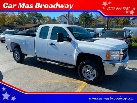 2012 Chevrolet Silverado 2500HD for sale at Car Mas Broadway in Crest Hill IL