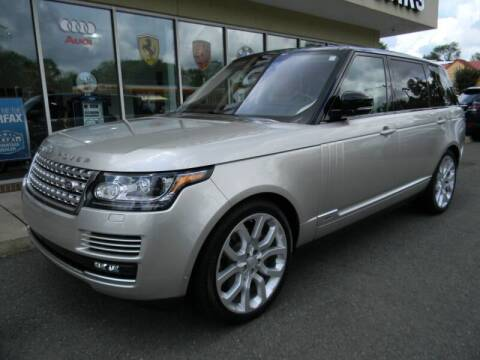 2017 Land Rover Range Rover for sale at Platinum Motorcars in Warrenton VA