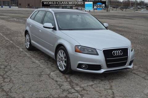 2012 Audi A3 for sale at World Class Motors LLC in Noblesville IN