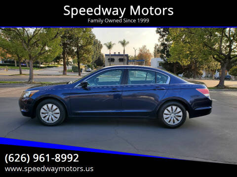 2009 Honda Accord for sale at Speedway Motors in Glendora CA