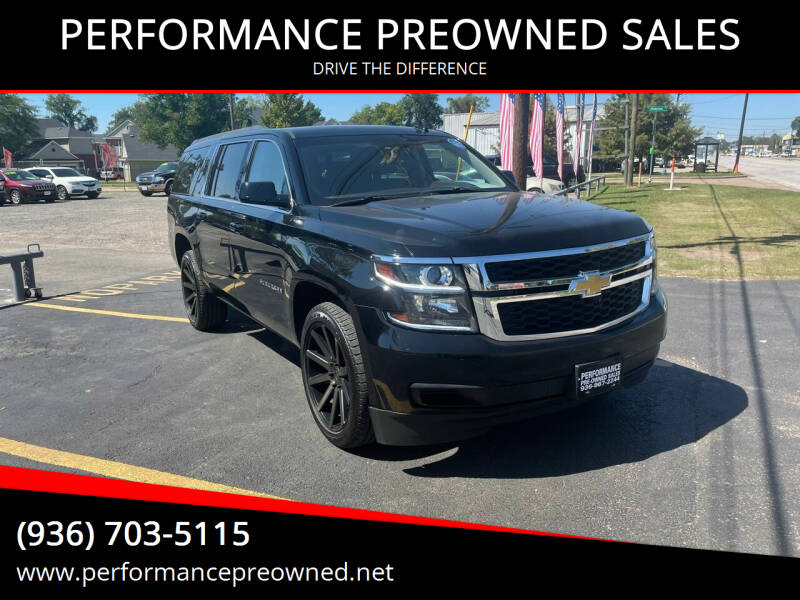 2015 Chevrolet Suburban for sale at PERFORMANCE PREOWNED SALES in Conroe TX