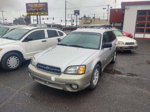 2003 Subaru Outback for sale at Direct Auto Sales+ in Spokane Valley WA
