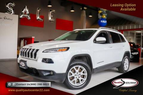2017 Jeep Cherokee for sale at Quality Auto Center of Springfield in Springfield NJ