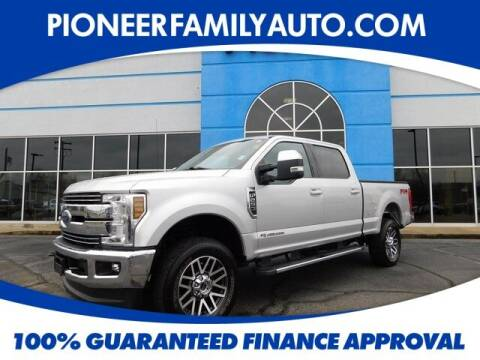 2018 Ford F-250 Super Duty for sale at Pioneer Family auto in Marietta OH
