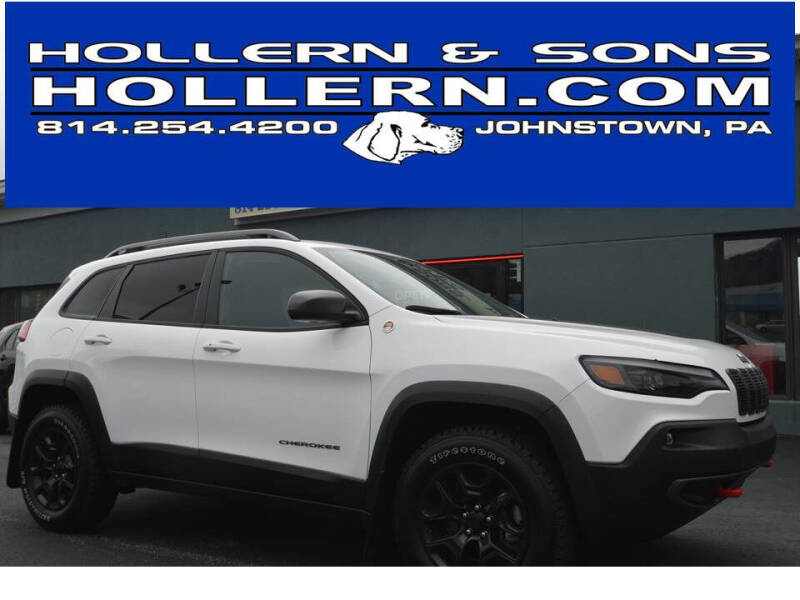 2020 Jeep Cherokee for sale at Hollern & Sons Auto Sales in Johnstown PA