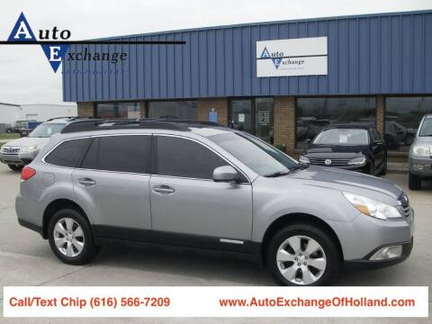 2011 Subaru Outback for sale at Auto Exchange Of Holland in Holland MI