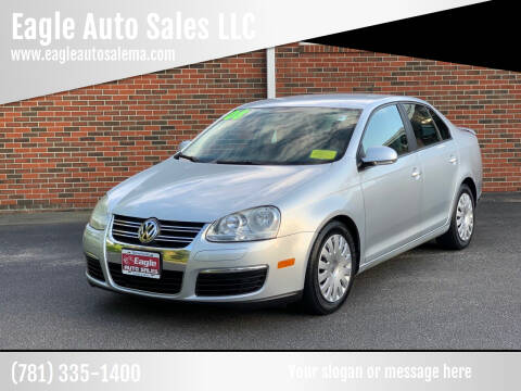 2008 Volkswagen Jetta for sale at Eagle Auto Sales LLC in Holbrook MA