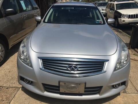 2011 Infiniti G37 Sedan for sale at AUTO DEALS UNLIMITED in Philadelphia PA