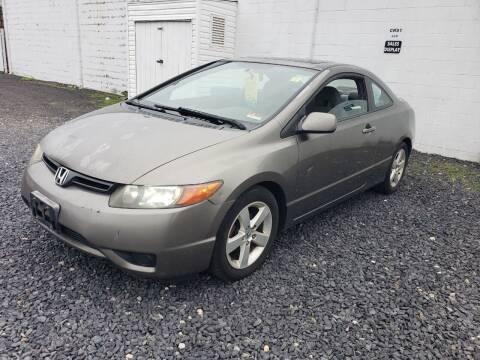 2007 Honda Civic for sale at CRS 1 LLC in Lakewood NJ