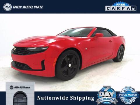 2019 Chevrolet Camaro for sale at INDY AUTO MAN in Indianapolis IN