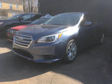 2017 Subaru Legacy for sale at MELILLO MOTORS INC in North Haven CT