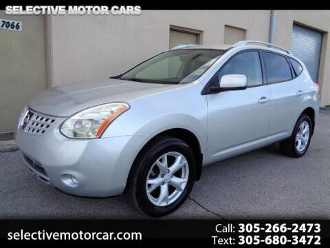 2008 Nissan Rogue for sale at Selective Motor Cars in Miami FL