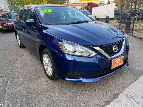 2018 Nissan Sentra for sale at TOP SHELF AUTOMOTIVE in Newark NJ