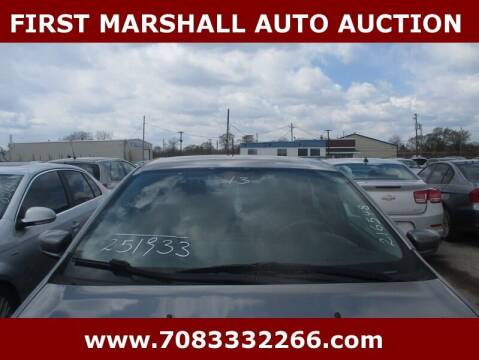 2013 Dodge Dart for sale at First Marshall Auto Auction in Harvey IL
