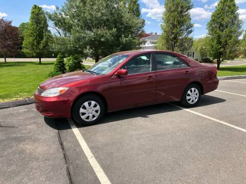 2004 Toyota Camry for sale at Chris Auto South in Agawam MA