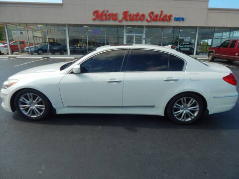 2012 Hyundai Genesis for sale at Mira Auto Sales in Dayton OH