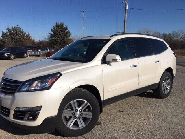 2015 Chevrolet Traverse for sale at Varco Motors LLC in Denison KS
