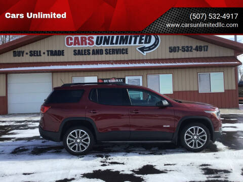 2017 GMC Acadia for sale at Cars Unlimited in Marshall MN