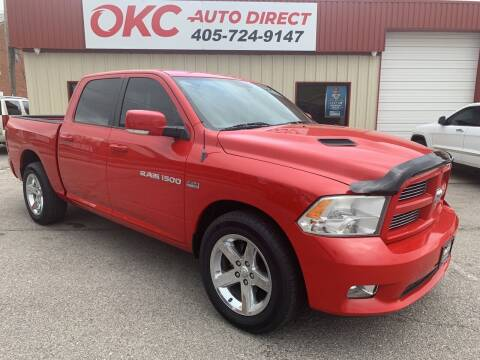 2012 RAM Ram Pickup 1500 for sale at OKC Auto Direct in Oklahoma City OK