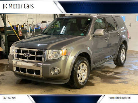 2009 Ford Escape for sale at JK Motor Cars in Pittsburgh PA