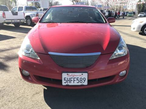 2005 Toyota Camry Solara for sale at EXPRESS CREDIT MOTORS in San Jose CA