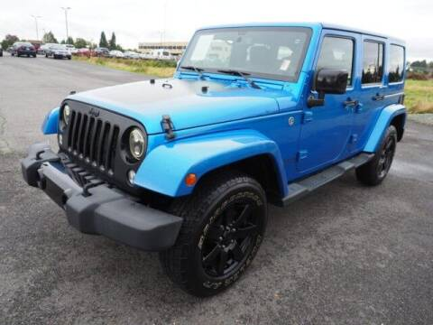 2014 Jeep Wrangler Unlimited for sale at Karmart in Burlington WA