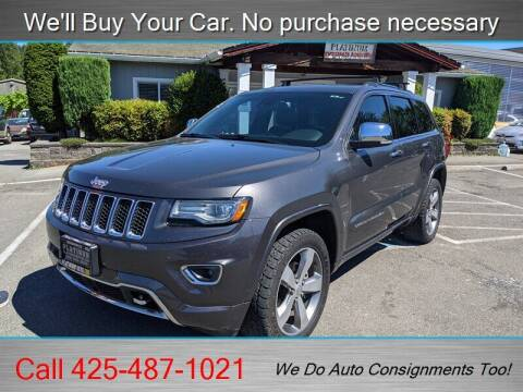 2014 Jeep Grand Cherokee for sale at Platinum Autos in Woodinville WA